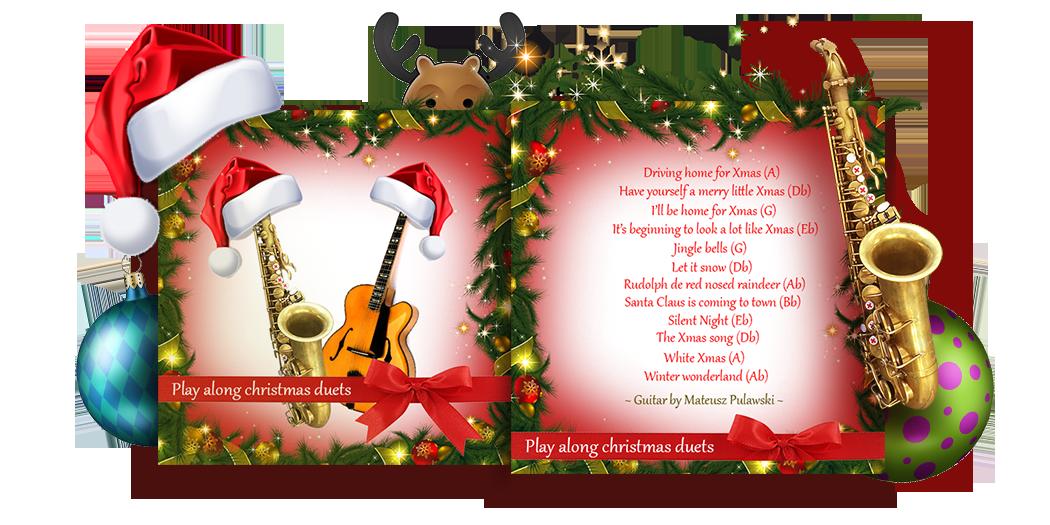Saxophone Christmas Play Along Songs